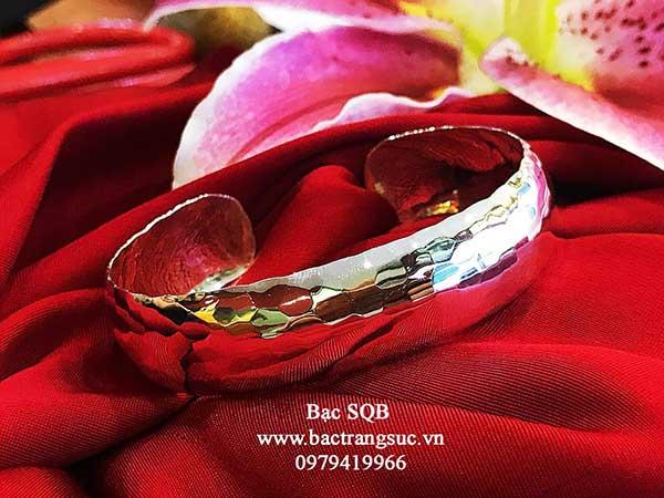 Lắc tay bạc nữ BRA-1196