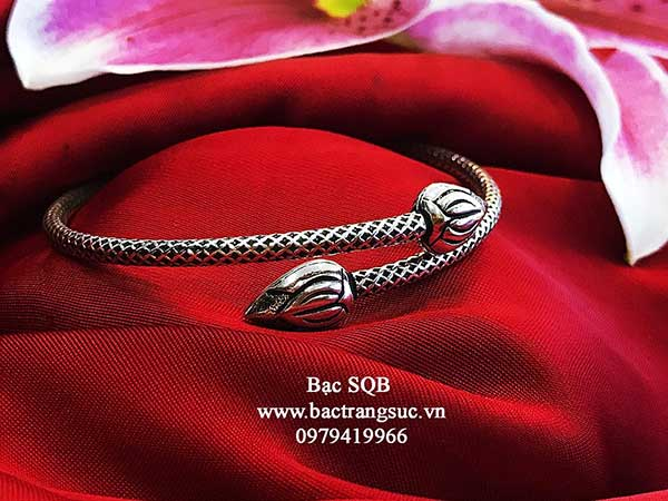 Lắc tay bạc nữ BRA-1464