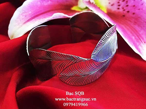 Lắc tay bạc nữ BRA-1465