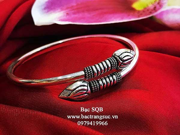 Lắc tay bạc nữ BRA-1467