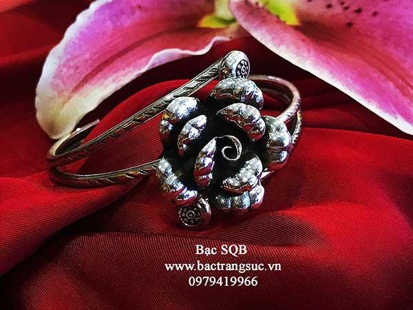 Lắc tay bạc nữ BRA-1468