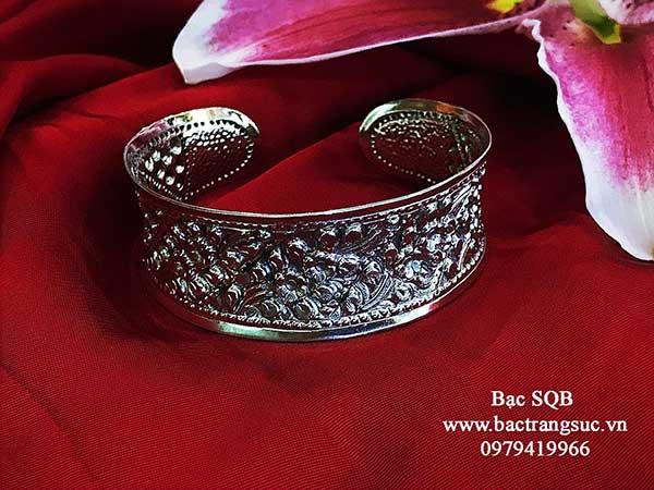 Lắc tay bạc nữ BRA-1470