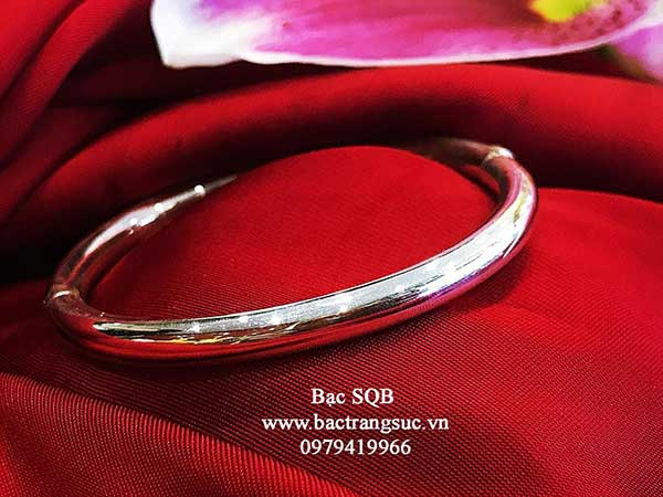 Lắc tay bạc nữ BRA-1472