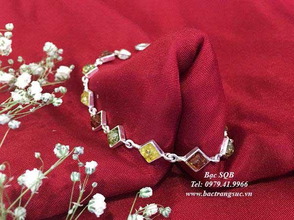 Lắc tay bạc BRA-1433