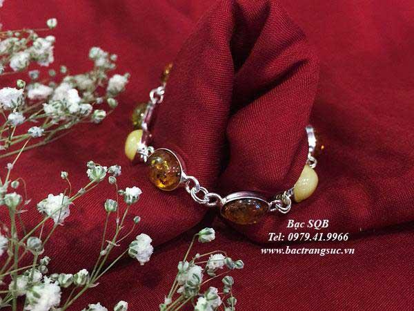 Lắc tay bạc BRA-1434