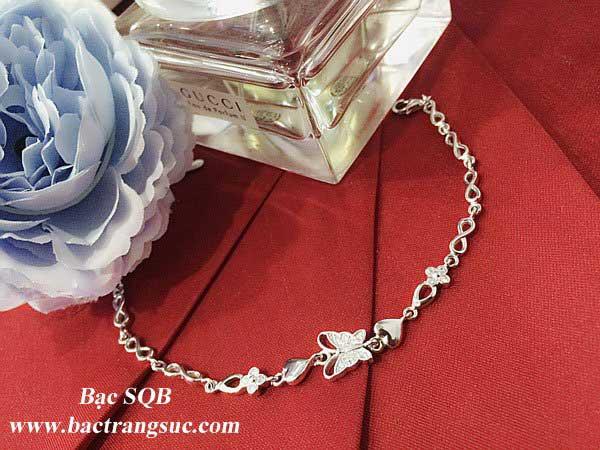 Lắc tay bạc BRA-1383 (OFF 30%)