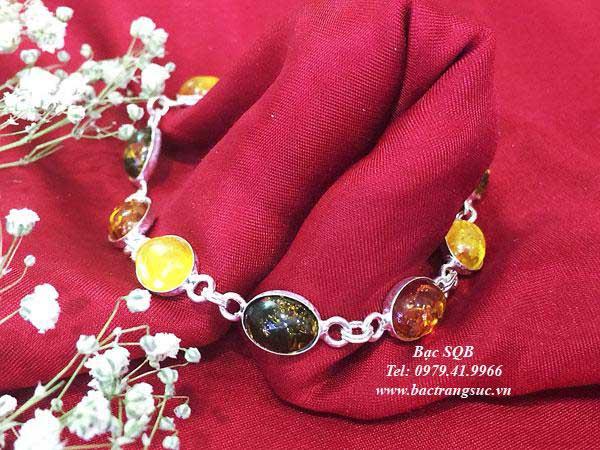 Lắc tay bạc BRA-1431