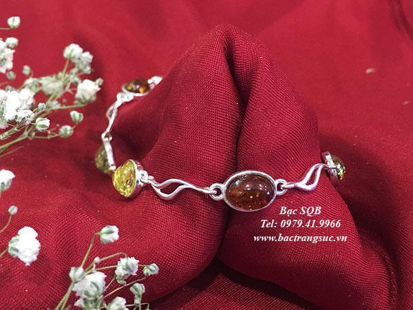 Lắc tay bạc BRA-1432