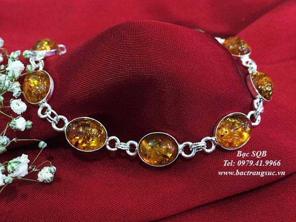 Lắc tay bạc BRA-1435