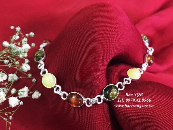Lắc tay bạc BRA-1436
