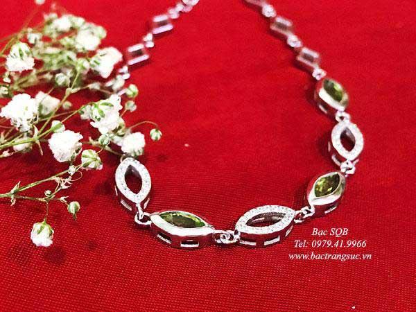 Lắc tay bạc nữ BRA-1438
