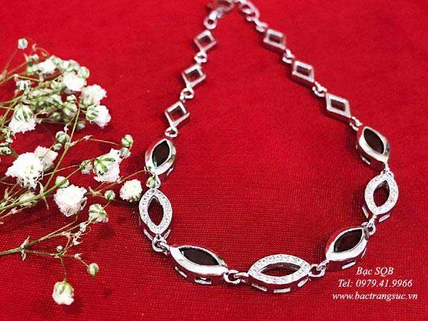 Lắc tay bạc nữ BRA-1440