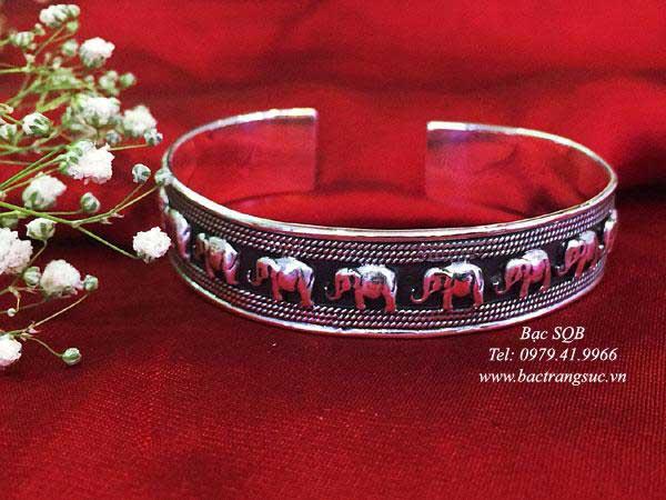 Lắc tay bạc nữ BRA-1013