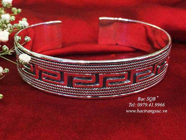 Lắc tay bạc nữ BRA-1233