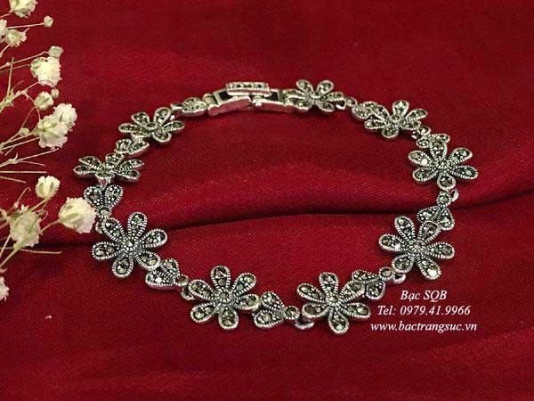 Lắc tay bạc nữ BRA-1253