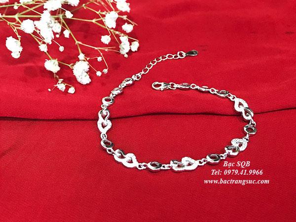 Lắc tay bạc BRA-1426