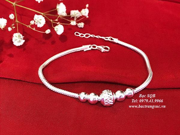 Lắc tay bạc BRA-1427