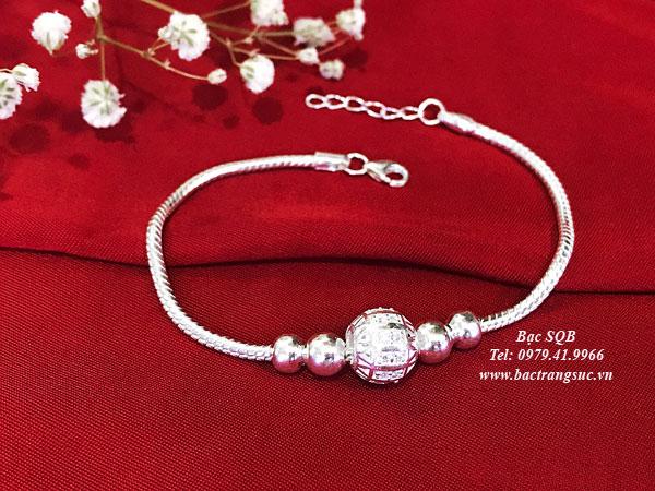 Lắc tay bạc BRA-1427B