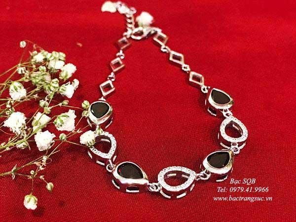 Lắc tay bạc nữ BRA-1441