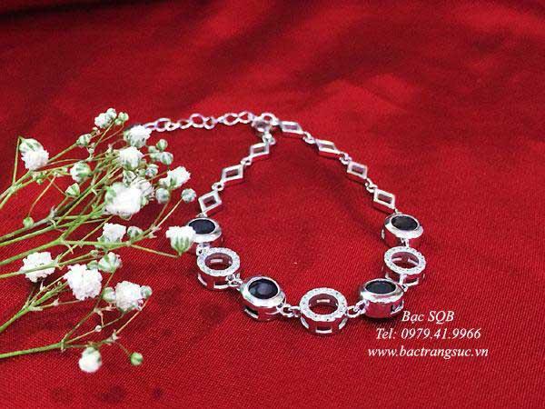 Lắc tay bạc nữ BRA-1442