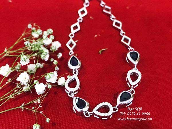 Lắc tay bạc nữ BRA-1443