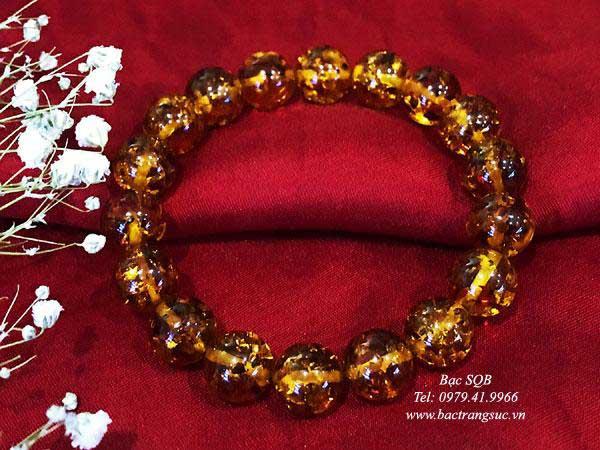 Lắc tay bạc nữ BRA-1444C