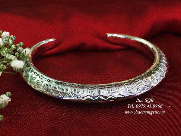 Lắc tay bạc nữ BRA-1445