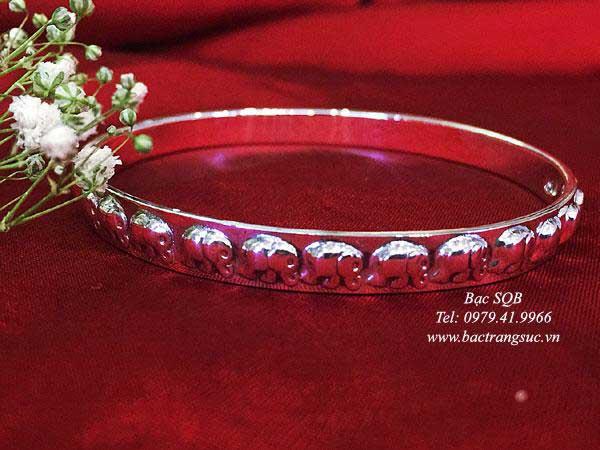 Lắc tay bạc nữ BRA-1447