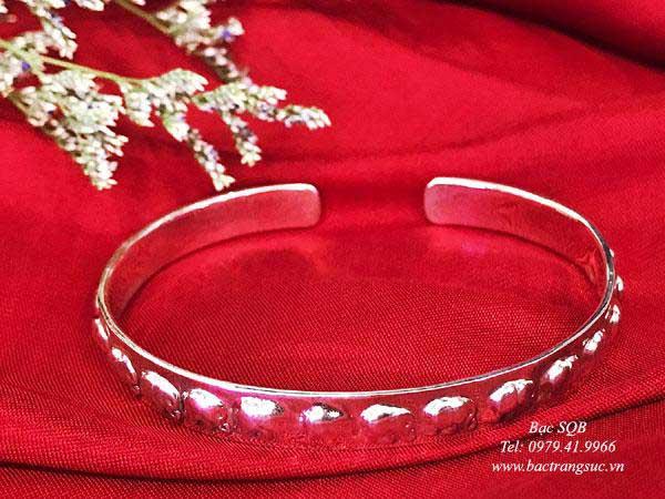 Lắc tay bạc nữ BRA-1448