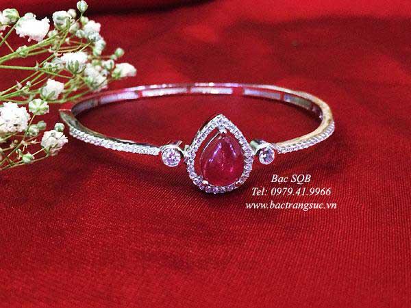 Lắc tay bạc nữ BRA-1449