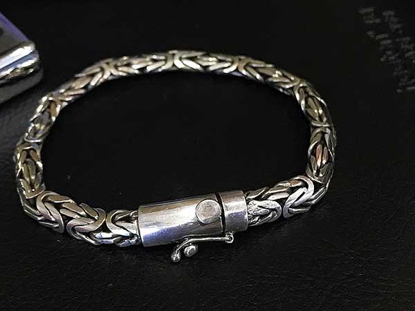 Lắc tay bạc nam BRA-756A