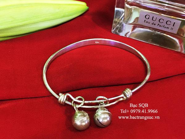 Lắc tay bạc nữ BRA-456 (OFF20%)