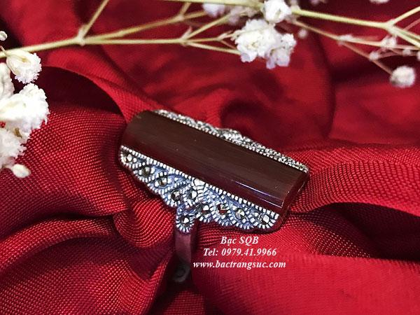 Nhẫn bạc nữ RI-027