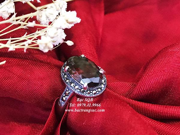 Nhẫn bạc nữ RI-2217