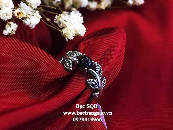 Nhẫn bạc nữ RI-796