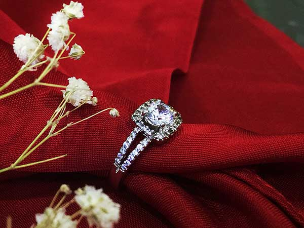 Nhẫn bạc nữ RI-2391