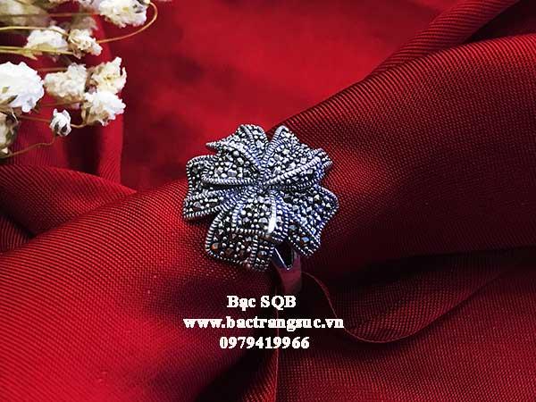 Nhẫn bạc nữ RI-2834