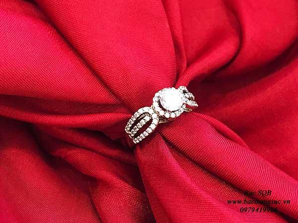 Nhẫn bạc nữ RI-2908 (OFF 50%)