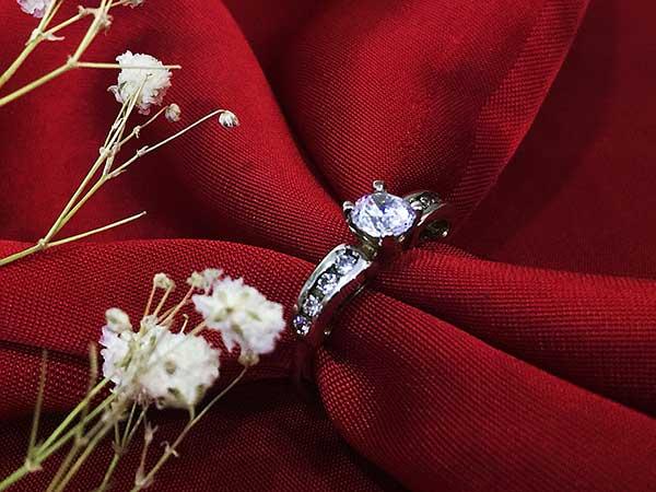 Nhẫn bạc nữ RI-2914