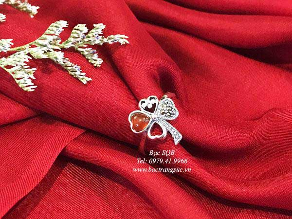Nhẫn bạc RI-3096