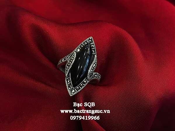Nhẫn bạc nữ RI-327
