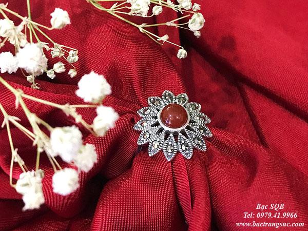 Nhẫn bạc nữ RI-1594