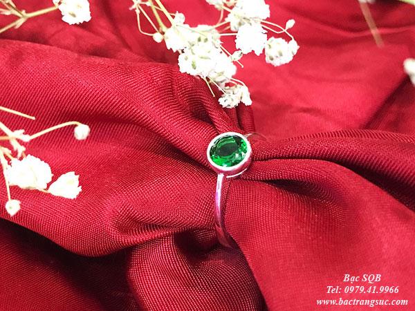 Nhẫn bạc nữ RI-2508