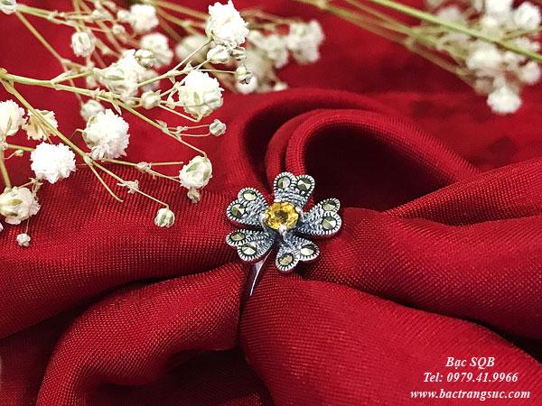 Nhẫn bạc nữ RI-2570