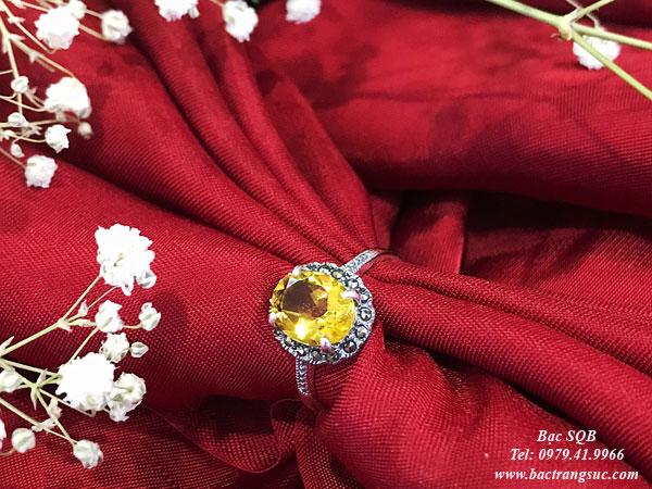 Nhẫn bạc nữ RI-2651