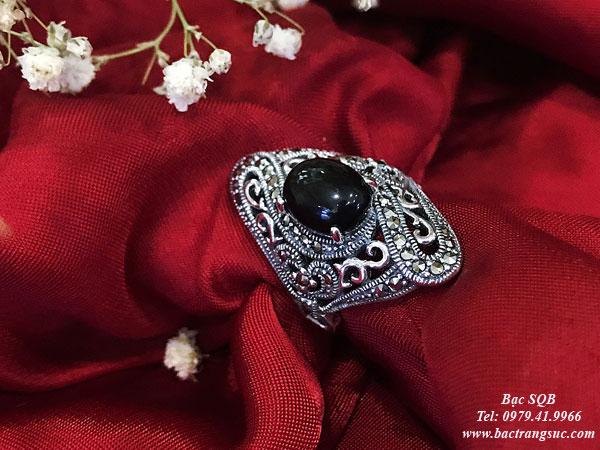 Nhẫn bạc nữ RI-2839