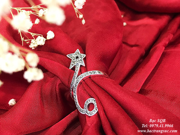 Nhẫn bạc nữ RI-2906