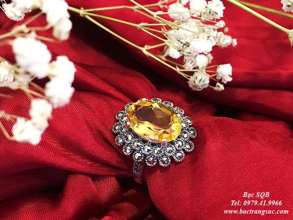 Nhẫn bạc nữ RI-2930