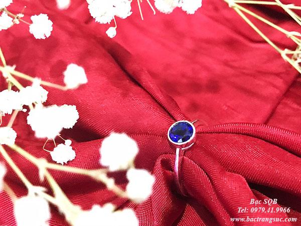 Nhẫn bạc nữ RI-3047