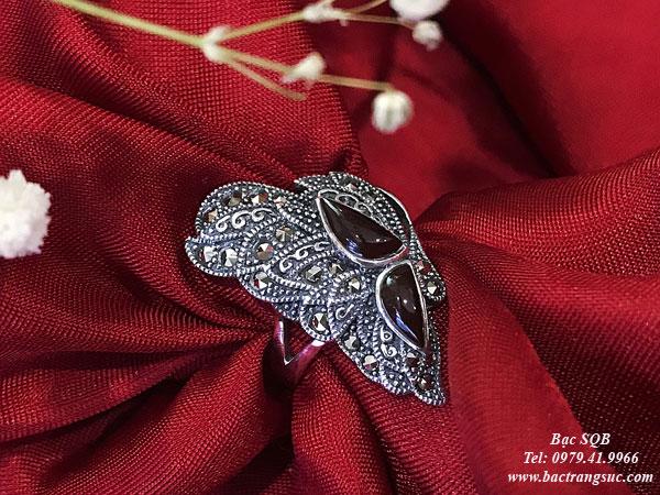 Nhẫn bạc nữ RI-3049